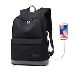 Laptop Backpack Travel Backpack Waterproof School Backpack for 14 inch Laptops with USB Charging Port (Black) for Sale in Pomona, CA