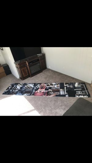 "Dwayne ""the rock"" Johnson fabric graphic for Sale in La Habra, CA"