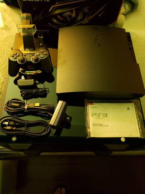 Playstation 3 Slim + 17 Games, PS Eye, Accessories for Sale in Newark, CA