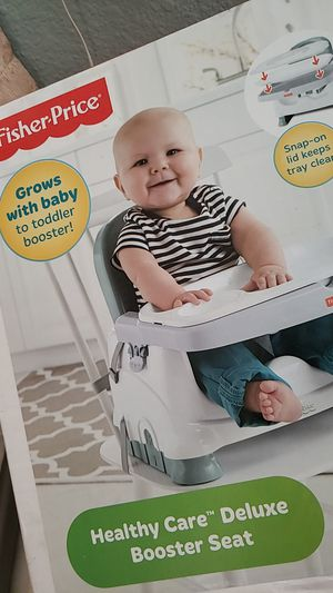 Fisher price healthy care deluxe booster seat for Sale in E RNCHO DMNGZ, CA