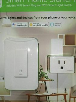 Smart Home Starter Kit, WiFi Plug And Switch for Sale in Irvine,  CA