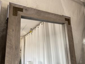 Thick Industrial / Rustic Style Mirror for Sale in San Diego, CA