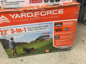 Yard force 3 in 1 for Sale in Vernon, CA