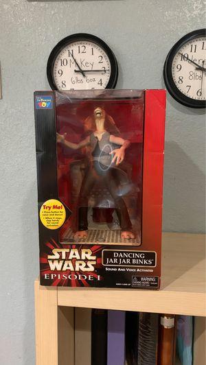 Star Wars Dancing jar jar binks for Sale in Vallejo, CA