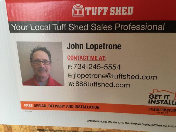Tuff Shed TR-800 10' X 12'