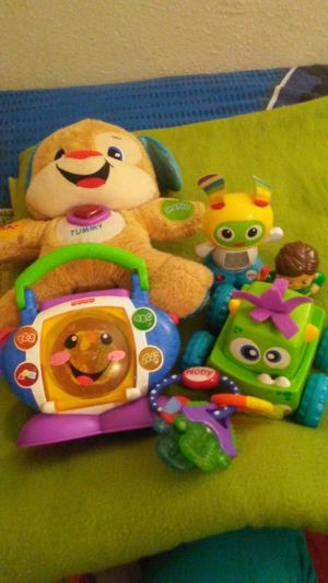 Baby toy bundle that run with batteries for Sale in Denver, CO