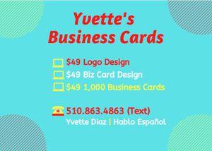 Business Cards / Tarjetas de Negocio for Sale in Hayward, CA