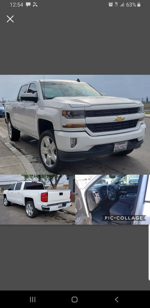 2016 silverado 65k miles clean title like new leveling kit bedliner DVD system towing package and more 30k obo for Sale in Fresno, CA