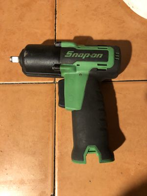 Snap on Ct761 impact gun 3/8 14.4v cordless for Sale in Santa Ana, CA