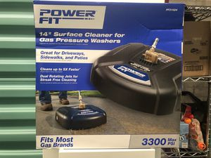 """Surface cleaner 14"""" power washer / pressure washer attachment for Sale in Tamarac, FL"""