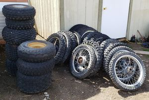 Dirt Bike Tires w/Rims for Sale in American Fork, UT