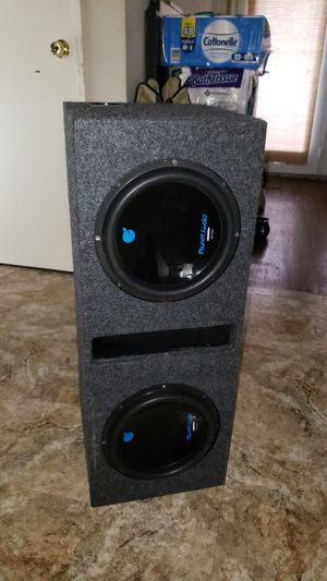 """2 10"""" Subwoofers In Ported Box for Sale in Ferguson, MO"""