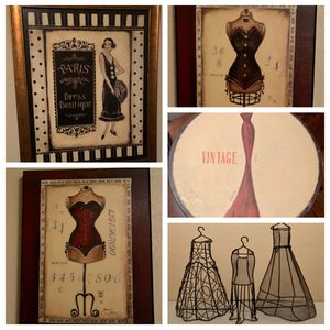 Dress boutique artwork and decor for Sale in Charleston, WV