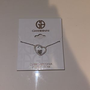 Cubic Zirconia Heard Shaped Necklace for Sale in Houston, TX