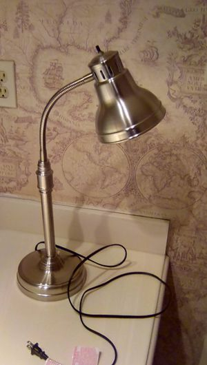 Stainless desk lamp for Sale in Houston, TX