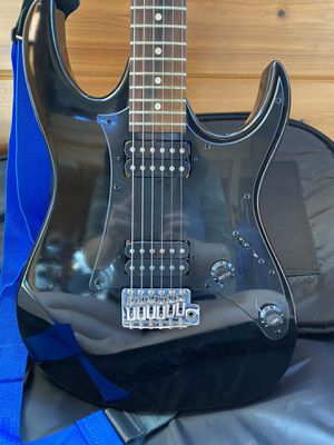 Gio Ibanez Beginner Electric Guitar Black with Bag for Sale in Sanford, FL