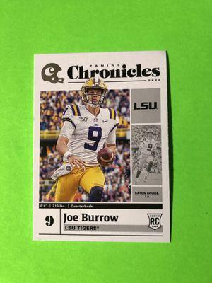 Joe Burrow Rookie Baseball Card for Sale in Fresno, CA