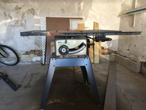 FREE!! Craftsman Table Saw for Sale in Waltham, MA
