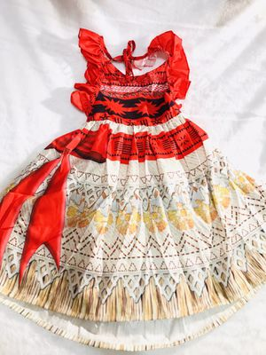 6yrs and 8yrs Moana dress $25 each for Sale in National City, CA