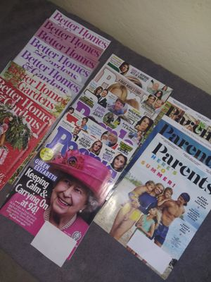 2020 People, parents, better homes and gardens magazines for Sale in Glendale, AZ