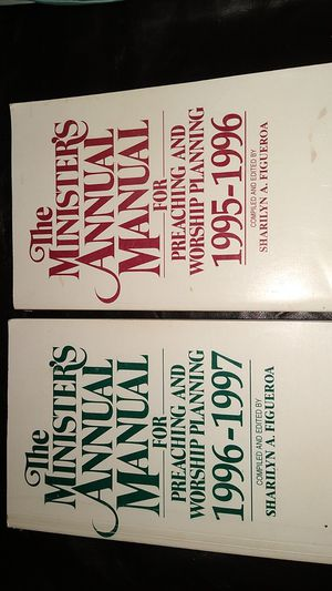 The Ministers Annual Manual for Sale in KINGSVL NAVAL, TX