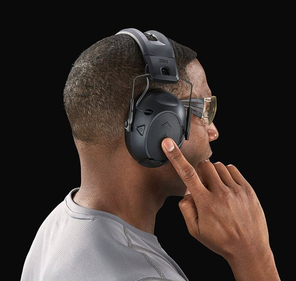 Peltor 500 BlueTooth Electronic Hearing Protection, Ear Protection