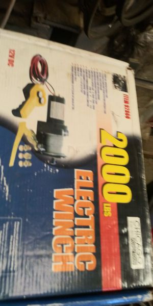 Chicago utility winch 2000 pound pulling winch great for ATV for Sale in Homeland, CA