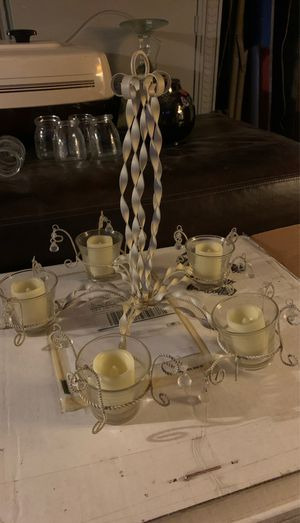 Small votive chandelier for Sale in Paramount, CA