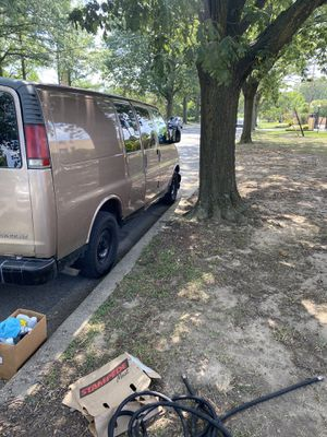 2001 Chevy express 2500 / Detail van together for Sale in Washington, DC