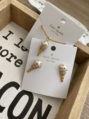 Kate Spade Ice Cream necklace Set for Sale in Katy, TX