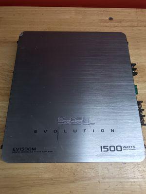 Sound Storm Labs (SSL) SSL EV1500M 1500W Monoblock Car Amplifier for Sale in Houston, TX