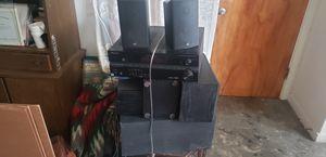 Pioneer/boston/Bose surround sound setup for Sale in San Francisco, CA