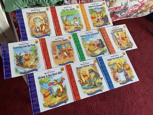 Winnie the Pooh Lessons from the 100 - Acre Wood Books All 10 for $15 for Sale in Boston, MA