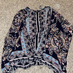 Blue multi colored cardigan for Sale in South Jordan, UT