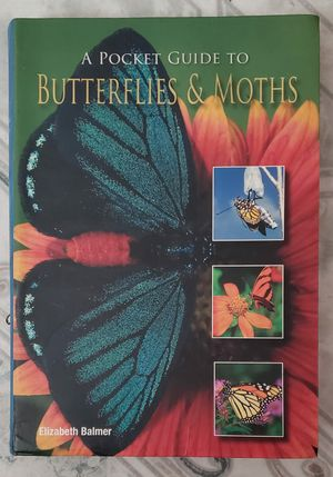A Pocket Guide to Butterflies and Moths for Sale in San Bernardino, CA
