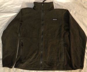 PATAGONIA Synchilla Fleece Brown Full Zip Jacket Deep Pile RetroX Womens Small for Sale in Santa Clarita, CA