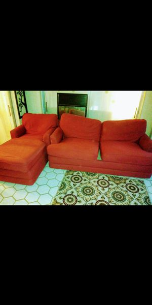 Red couch for Sale in Margate, FL