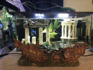 Sunken Ship Aquarium Decoration for Sale in San Diego, CA