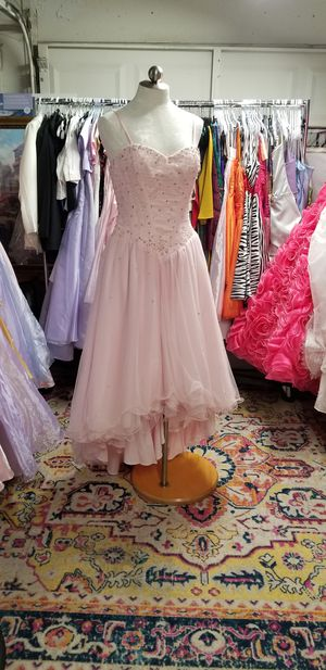 Powder pink quinceanera dress for Sale in Austin, TX