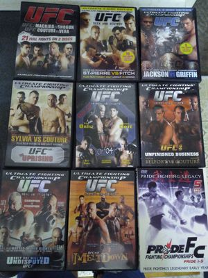 9 Ufc/Pride Dvds for Sale in Seattle, WA