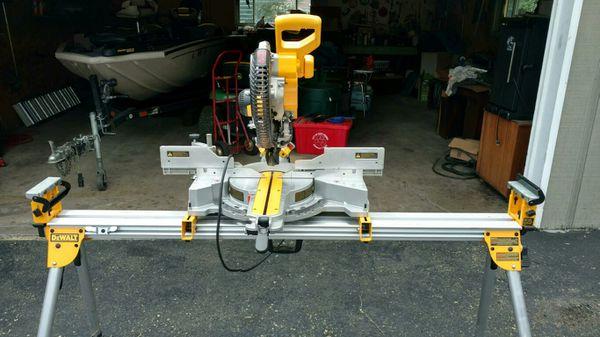 Compound meter sliding saw
