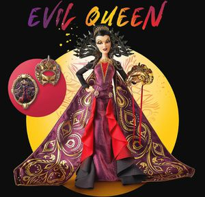 Evil Queen Limited Edition Doll – Disney Designer Collection Midnight Masquerade for Sale in Newport Beach, CA