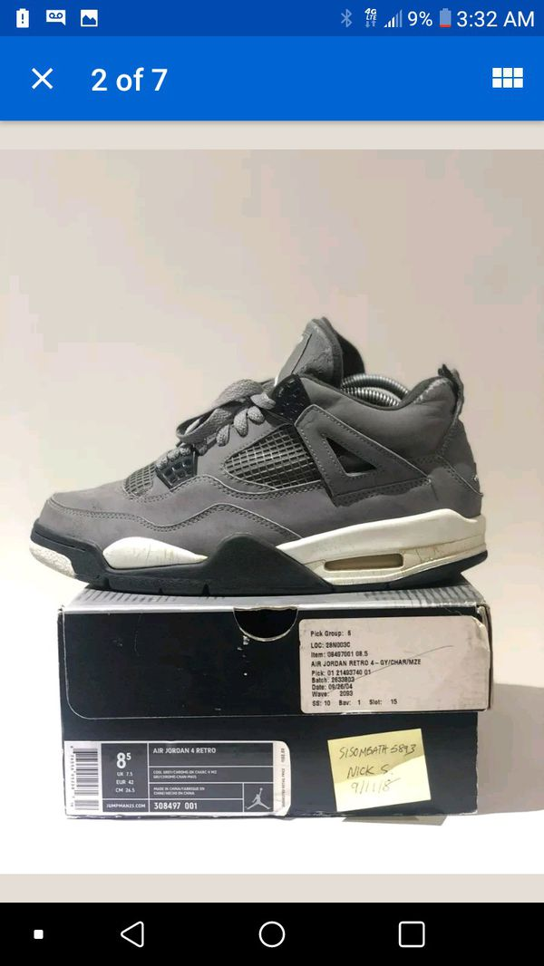 16b7dbd925d01f Cool grey 4s for Sale in Phoenix