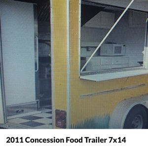 2011 Concession Food Trailer 7x14 for Sale in San Leandro, CA