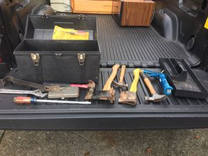 Random tools and box for Sale in Portland, OR
