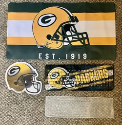 Green Bay Packers wireless keyboard, mouse, and desk mat for Sale in Spokane Valley,  WA