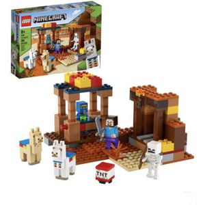 LEGO Minecraft The Trading Post 21167 Collectible Playset (201 Pieces) for Sale in Santa Maria, CA
