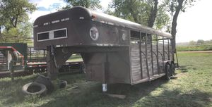 Gooseneck stock trailer for Sale in Brighton, CO