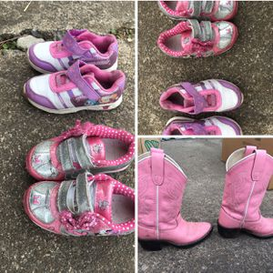 Little girls shoes and boots for Sale in Clackamas, OR