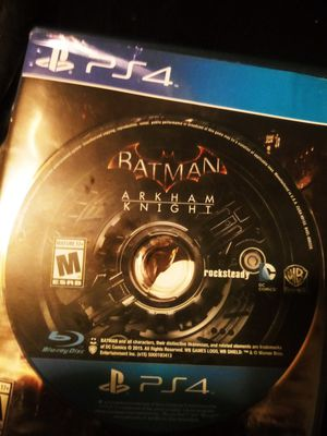 Batman Arkham knight ps4 for Sale in Las Vegas, NV